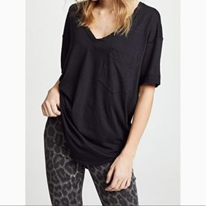 FREE PEOPLE Ronnie Tee Oversize Tee Top Tunic NWT